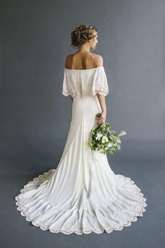 """Lu"" Bohemian Wedding Dresses."