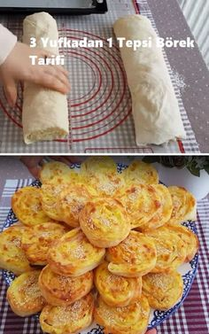 3 yufkadan 1 tray of pastry recipe- Yufkadan 1 Tablett Gebäck Rezept 3 yufkadan 1 tray of pastry recipe, # pastries Breakfast Snacks, Breakfast Recipes, Dessert Recipes, Gourmet Breakfast, Cracked Cookies, Just Pies, 2 Ingredient Recipes, Mother Recipe, Spinach And Feta