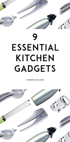 These are essential for a complete kitchen // gadgets