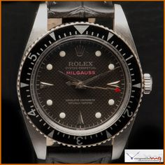 Rolex Milgauss Ref 6541 Honeycomb Dial Mens Fashion Suits, Mens Suits, Men's Fashion, Rolex Vintage, Vintage Watches, Rolex Oyster Perpetual, Plexus Products, Honeycomb, Clocks