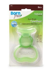 """My sons loved this teether! It will not be your best """"cold"""" teether however the bristles seem to hit the spot. Made from silicone which is presumably safe."""