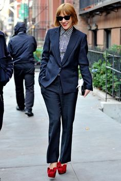 Great example of ill fitted suit Chloe Sevigny