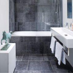 Belgian Blue Honed - Stone Collection Bathroom Flooring, Floor Layout, Blue Stone, Stone Shower, Small Bathroom, Stone Shower Walls, Shower Wall, Blue Stone Floors, Stone Collection