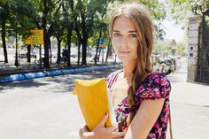 Clara Alonso en la calle