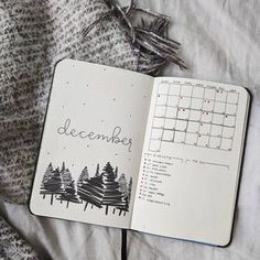 Finally finished my December setup with only a day to spare these scribble trees felt like they fit the December mood . . . . . #bujo #bujoinspo #bujoinspire #bulletjournal #bulletjournaljunkies #showmeyourplanner #showmeyourbulletjournal #decembermonthly #december #monthlyspread