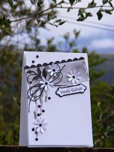 Kaartjie kreatief / Cards creative: January 2015