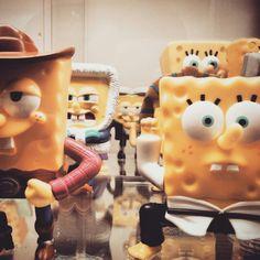 #스폰지밥 #피규어 #친구들 하나일 땐 모르겠는데 모아놓으면 다른 #느낌 #토이키노 #spongebob #toykino #toy