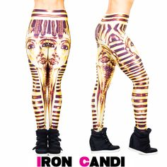 Pharaoh Leggings www.IRONCANDI.com