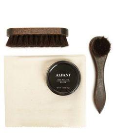 Alfani Shoe Accessories, 4 Piece Pro Shoe Care Kit