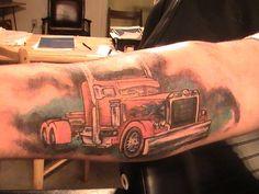 Hot Rod Car and Truck Tattoo 85