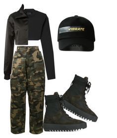 """Untitled #1082"" by elly-langhorn ❤ liked on Polyvore featuring Puma, Hood by Air and adidas Originals"