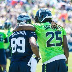 Seattle Seahawks - Richard Sherman & Doug Baldwin Jr.
