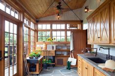 Potting room lean-to against the garage - this could also serve as the perfect studio, etc. - pic 2 of 2