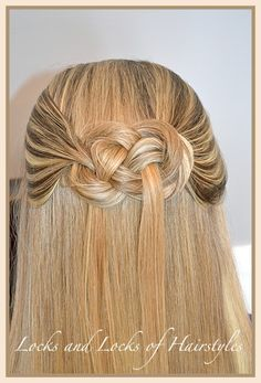 Unique Hairstyles: How to tie a Pretzel Knot in your hair | Kenra Professional. Braided Hairstyles.