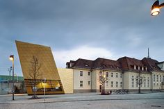 Bibliothek im Bahnhof / Luckenwalde, Germany
