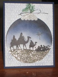 Wise Men Christmas Ornament by zipperc98 - Cards and Paper Crafts at Splitcoaststampers