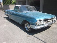 1960 Chevy El Camino, 283 4-Speed