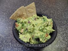 Alkaline Electric Guacamole by Ty's Conscious Kitchen! #tysconsciouskitchen…