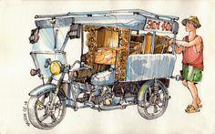 JR Sketches: Vietnam 2014
