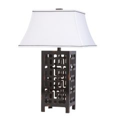 Fretwork Table Lamp 1 Light Fluorescent shown in Hand Painted by Kichler Lighting - 70765CA