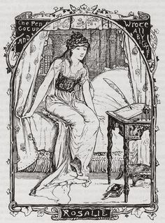 "Henry Justice Ford (H. J. Ford) ~ Rosalie ~ from The Invisible Prince ""The pen got up and wrote all by itself."""