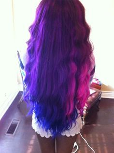 ♥ Photos are for reference only. Actual hair color may vary by bundle, as these extensions are hand painted/made.