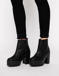 Image 4 of ASOS EXHIBIT Ankle Boots
