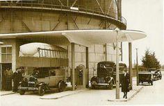 Pompstation bij gasfabriek Hilversum