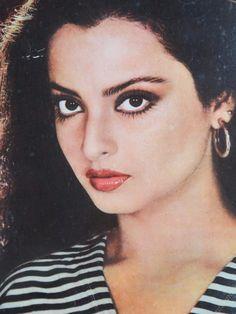 "19.5""x 13.5"" Photo Print Vintage Poster bollywood Actress Love Rekha J.B.Posters | eBay"