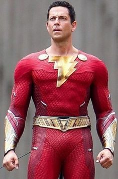 Black Adam, Zachary Levi, Dc Movies, Captain Marvel, New Image, New Look, Leather Jacket, Wonder Woman, Costumes