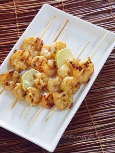Μαγειρική(&)Τέχνη!: Ψήτες γαρίδες στη γκριλιέρα με πικάντικη μαρινάδα!