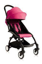 Babyzen YOYO Stroller – Black – Pink by Baby Zen