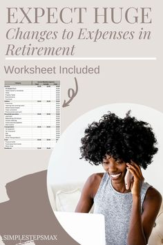 6 expenses will change dramatically in retirement. Use this excel spreadsheet to make sure you are budgeting correctly. Smart money management will lead to a healthier and happier retirement. #budget #financialtips #budgeting #moneymanagement