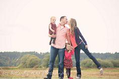 cute family pose