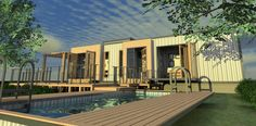 Shipping Container Homes: Eco Pig Designs - Devon, UK, - Bespoke Shipping Container Design http://homeinabox.blogspot.com.au/2013/01/eco-pig-designs-devon-uk-bespoke.html