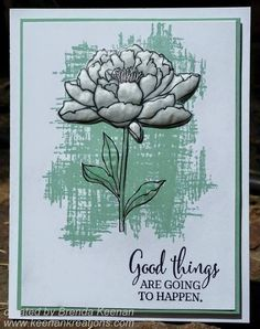 """""""You've Got This"""" stamp set in Mint Macaron"""