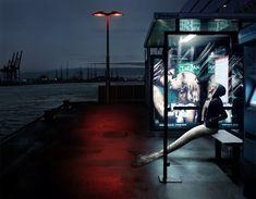 Milk & Sea is a series by Prague-born, London-based photographer Hana Vojáčková that visualizes mermaids in real life settings.