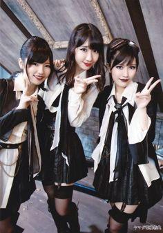 Paruru, Yukirin, & Mayuyu, #AKB48, #UZA single