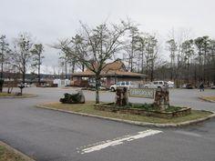 Guntersville Alabama State Park (Sad looking photo, lose of many trees after 4/27/11 tornados)