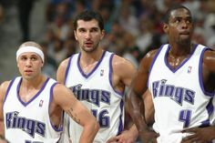 Mike, Peja & Chris. Sacramento Kings Nation