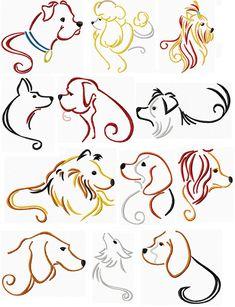 Stylish Dogs I