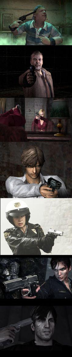Silent Hill - Random - Handgun.