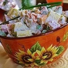 """""""This quick and easy salad can be served as a side dish or a main course. I suggest serving it with sliced apple, sweet gherkins, or cornichons. Nice bread and a glass of white wine wouldn't hurt either!"""""""