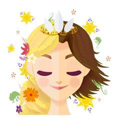 disney, princess, and rapunzel image #disneyprincess #disneyprincesspics #disney