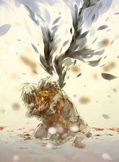 "(Accelerator and Last Order) Angelique Falardeau had this beautiful quote attatched to this that made me cry a little: ""Why did you do that, why did you do it, we were supposed to stay together."""