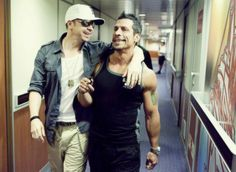 Donnie Wahlberg and Danny Wood