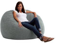 Delong Memory Foam Filled Bean Bag Chair