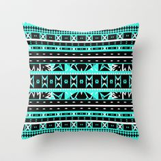 Mix #452 Throw Pillow by Ornaart - $20.00