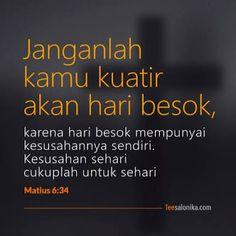 ayat alkitab - Penelusuran Google My Jesus, Jesus Christ, God Is Good, Picture Quotes, Bible Verses, Believe, Prayers, Spirituality, Faith