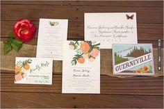 vintage wedding invites by Rifle Paper Co.   VIA #WEDDINGPINS.NET